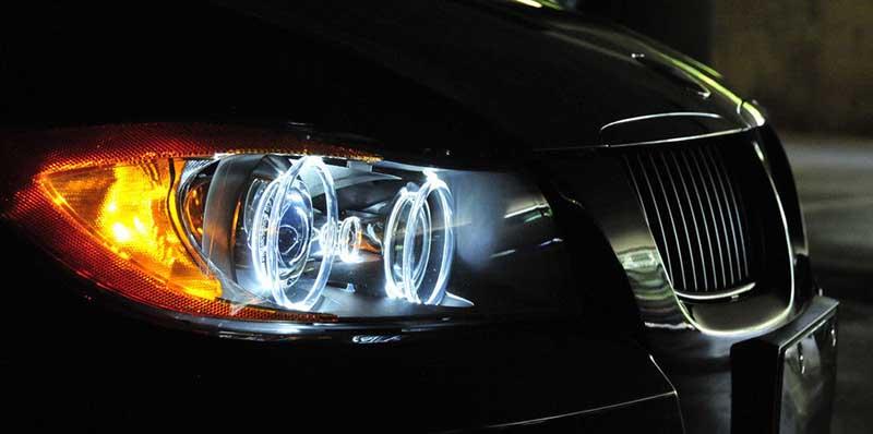 Типы ламп BMW 3 E90 седан 2008-2011 - список ламп