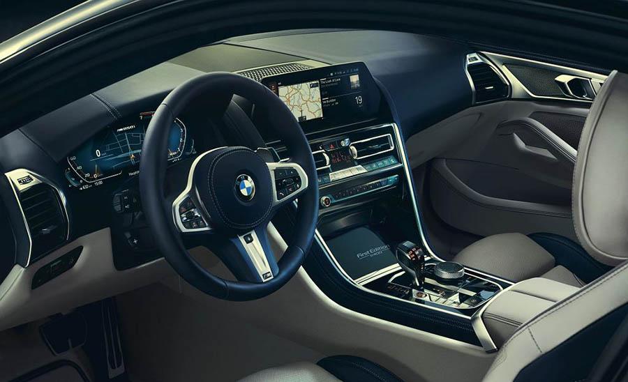 Салон ограниченной версии BMW M850i xDrive