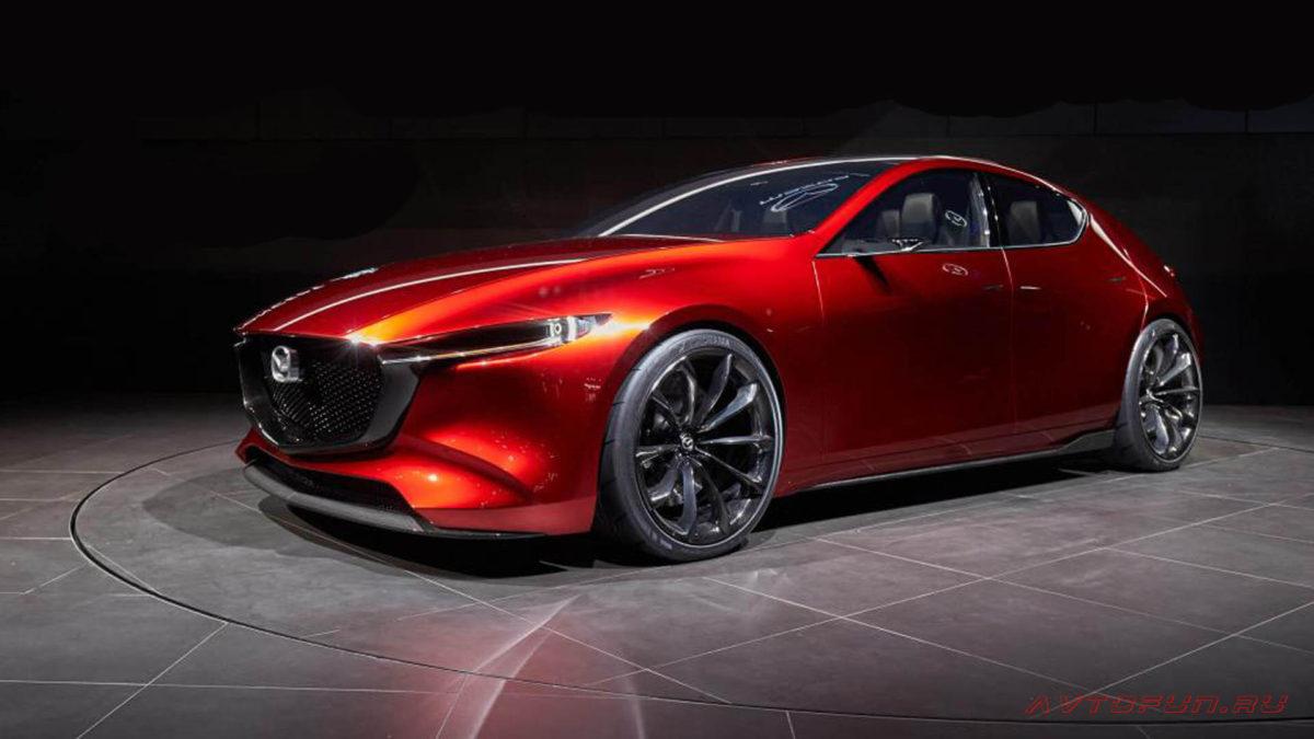 Mazda 3 2019 в новом кузове