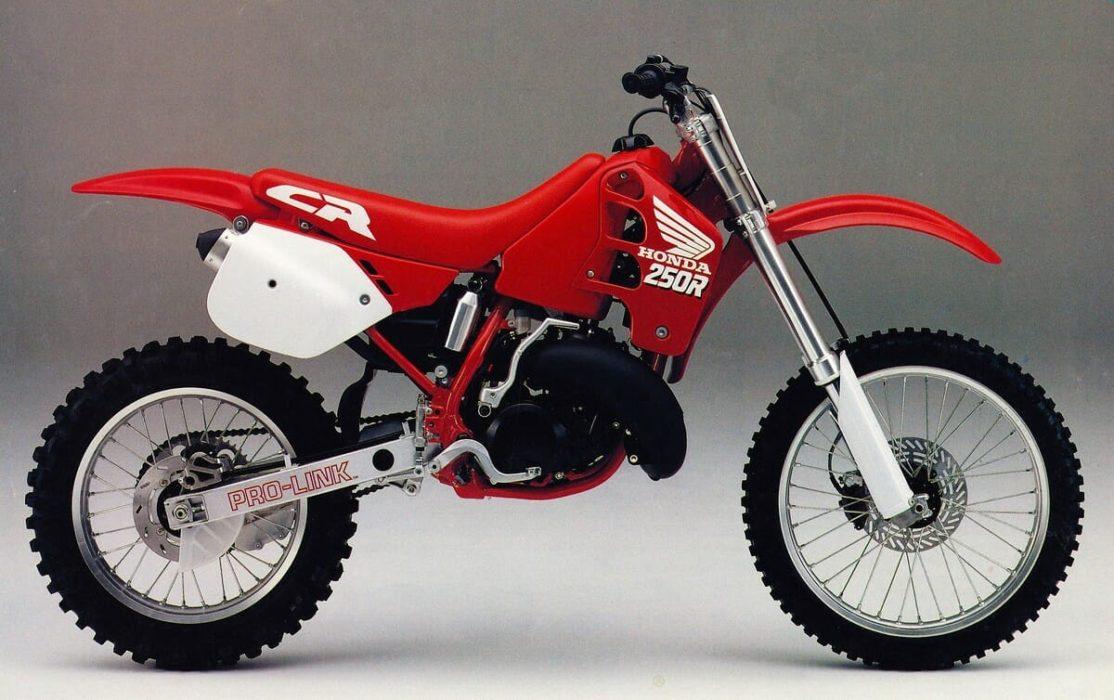 Honda CR250 - мотоцикл для мотокросса. Honda CR250
