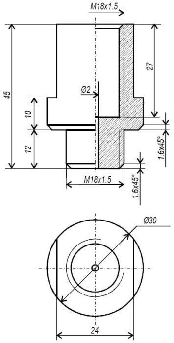 Обманка ЛЗ (лямбды, лямбда-зонда) для Nissan Almera
