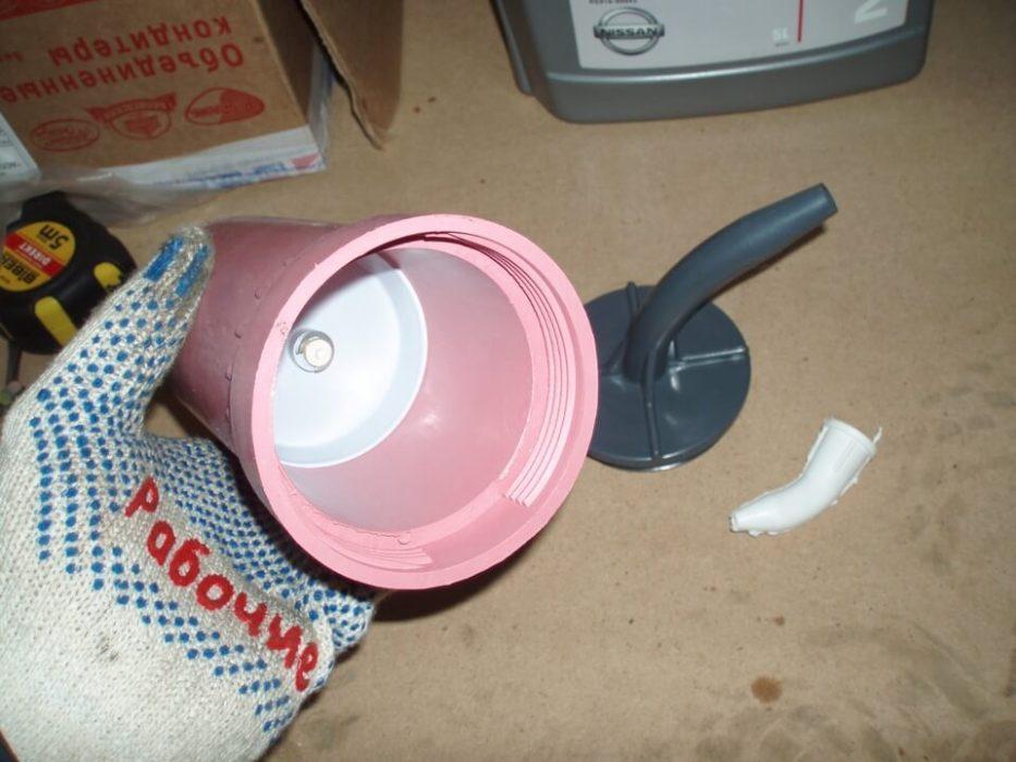 Процесс замены масла в МТ коробке Nissan Almera