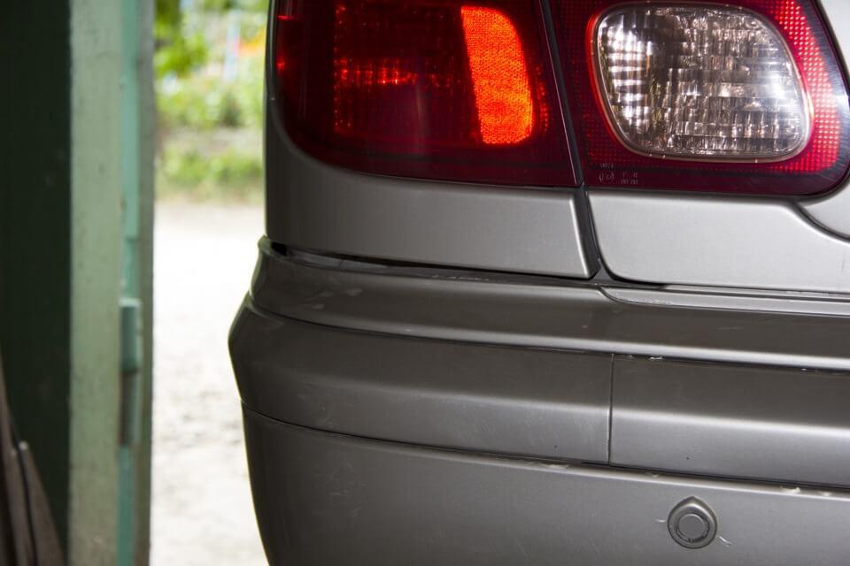 зазоры бампера Nissan Almera N16