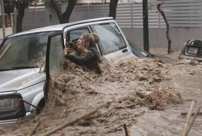чтобы твой автомобиль не попал в наводнение