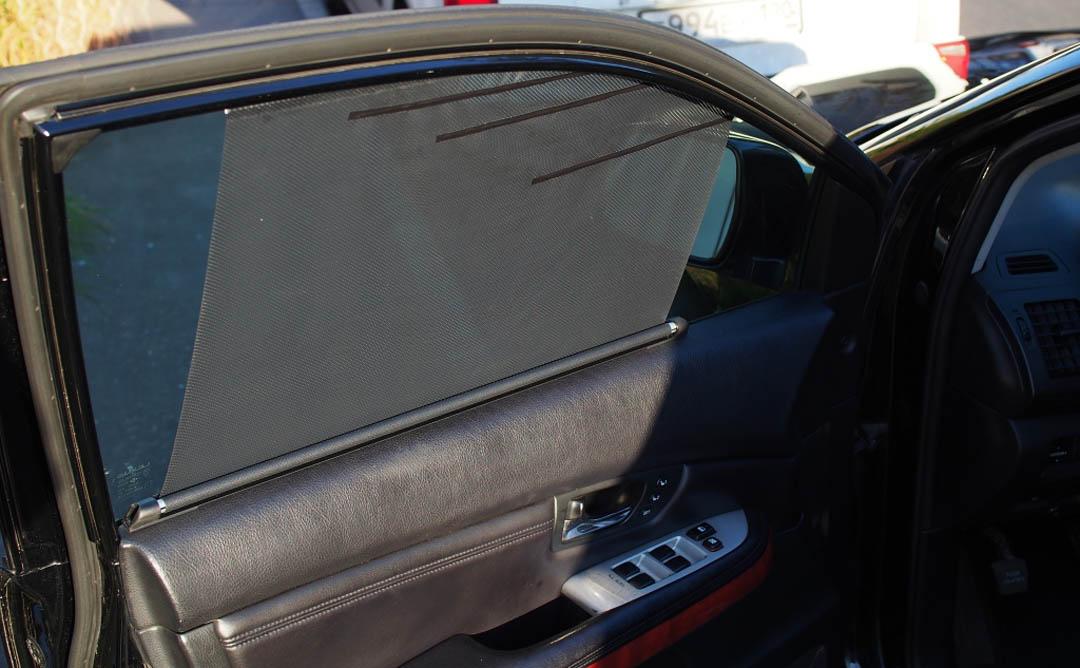 Автомобильные шторы - внешний вид