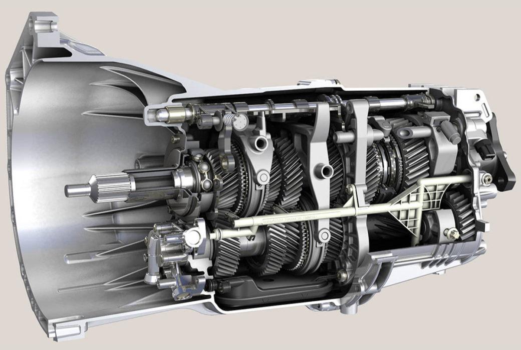 МКПП устройство внутри механической коробки переключения передач