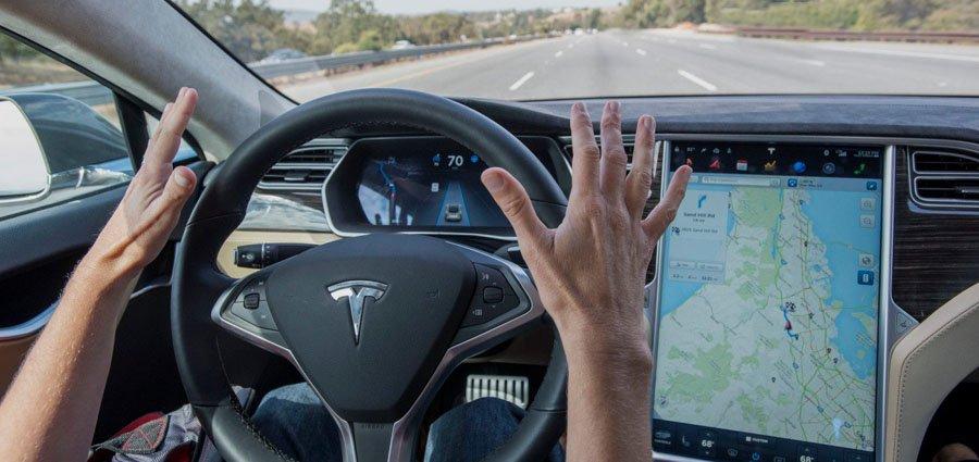 Беспилотные автомобили Tesla - SelfDriving Cars Tesla