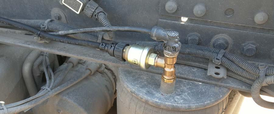 как починить датчик нагрузки на ось грузового автомобиля