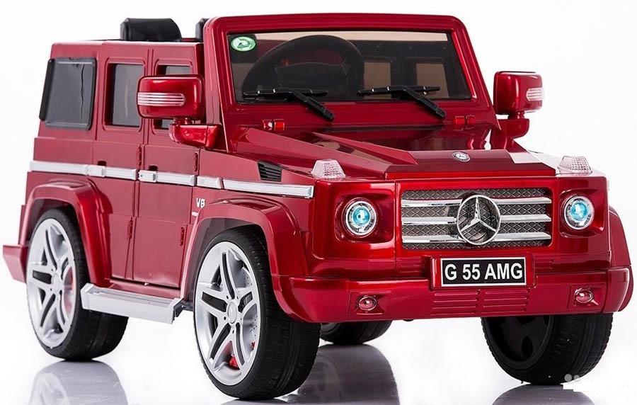 Mercedes AMG детская машинка на резиновых колесах с аккумулятором