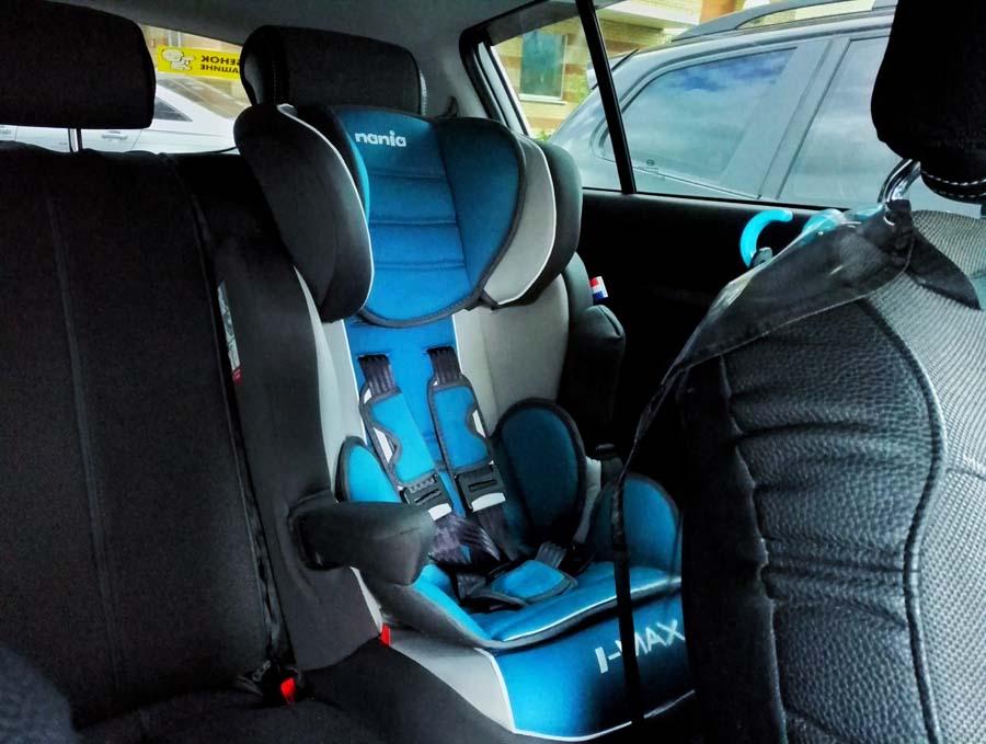 Удерживающее устройство для детей в автомобиле