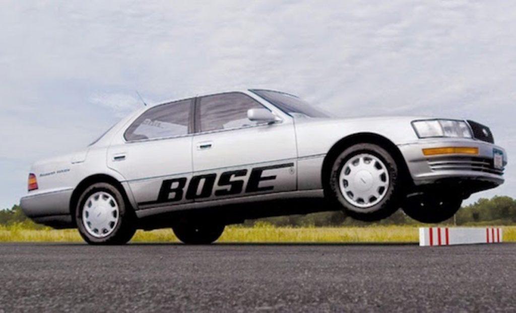 электромагнитная подвеска автомобиля Bose