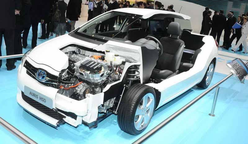Гибридный автомобиль - Toyota PLN, Prius