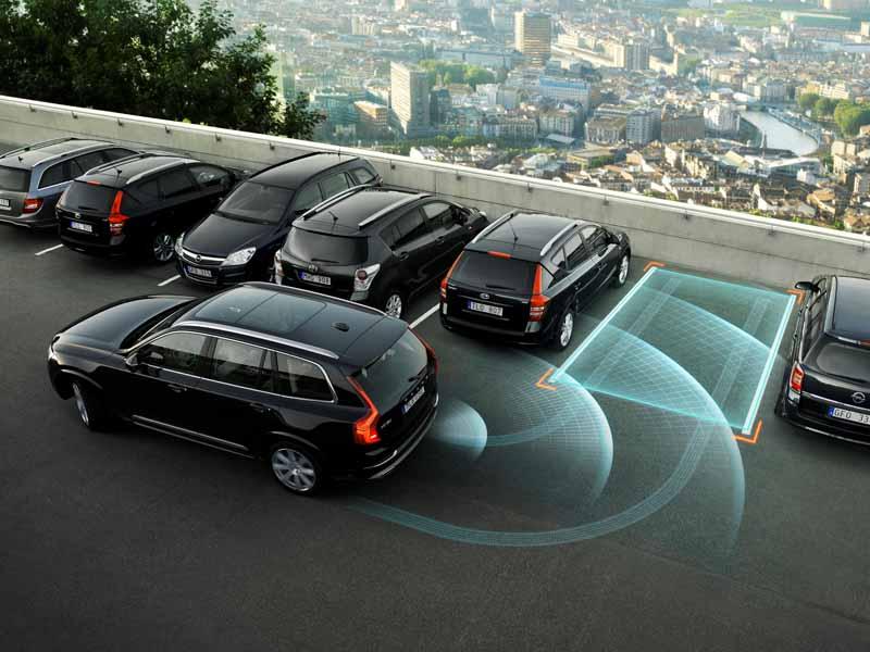 Система интеллектуальной автоматической парковки машины