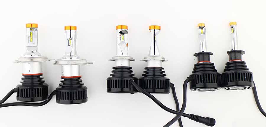 Типы ламп H7 дают больше света для головного освещения