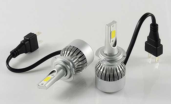 Мощность лампы H7 с радиатором