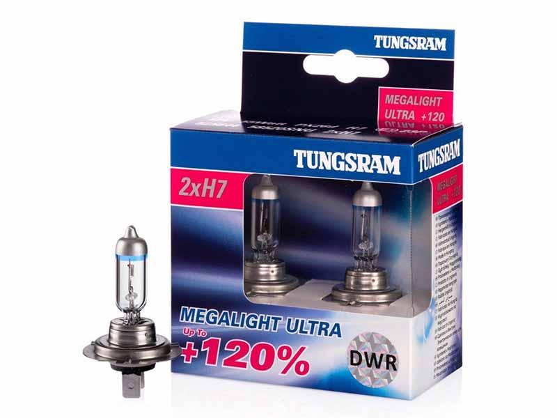 Tungsram Megalight Ultra лучшая лампа H7