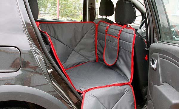 накидка на сиденье автомобиля от ног ребенка