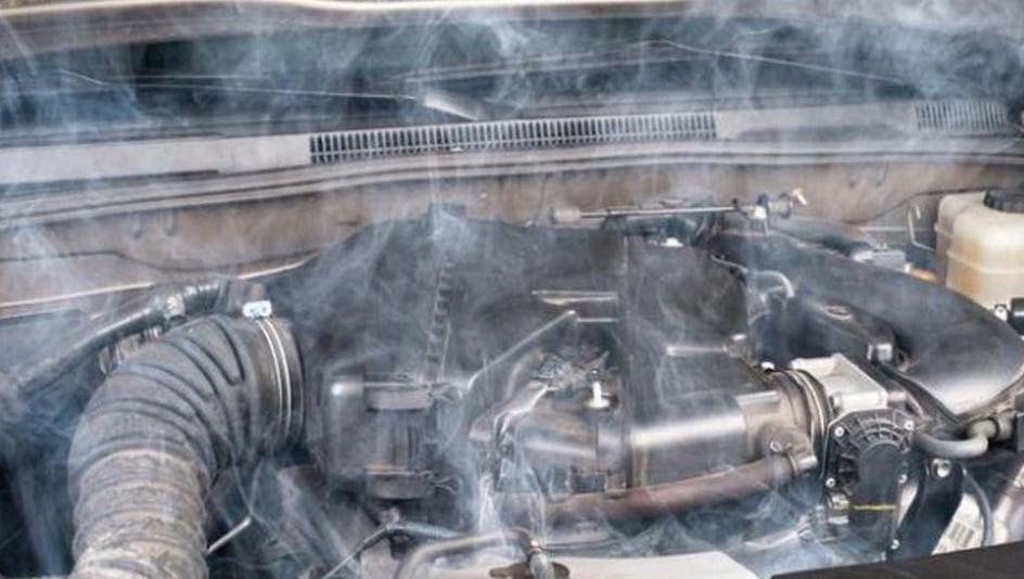 высокая температура двигателя