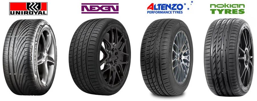 как правильно подобрать резину Uniroyal, Nokian, Altenzo, Nexen для автомобиля по марке