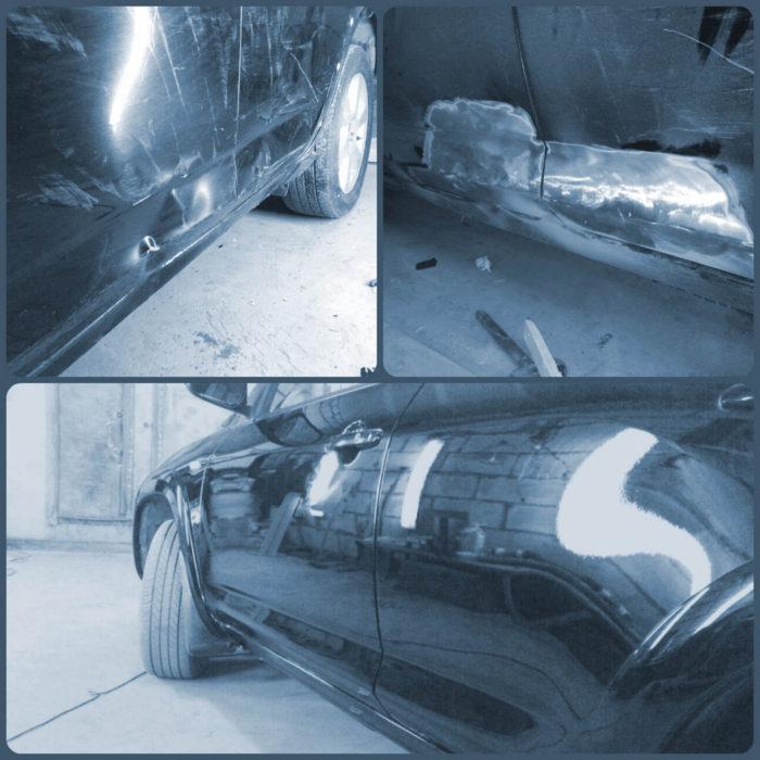 Полная покраска авто - от кузовного ремонта до полировки