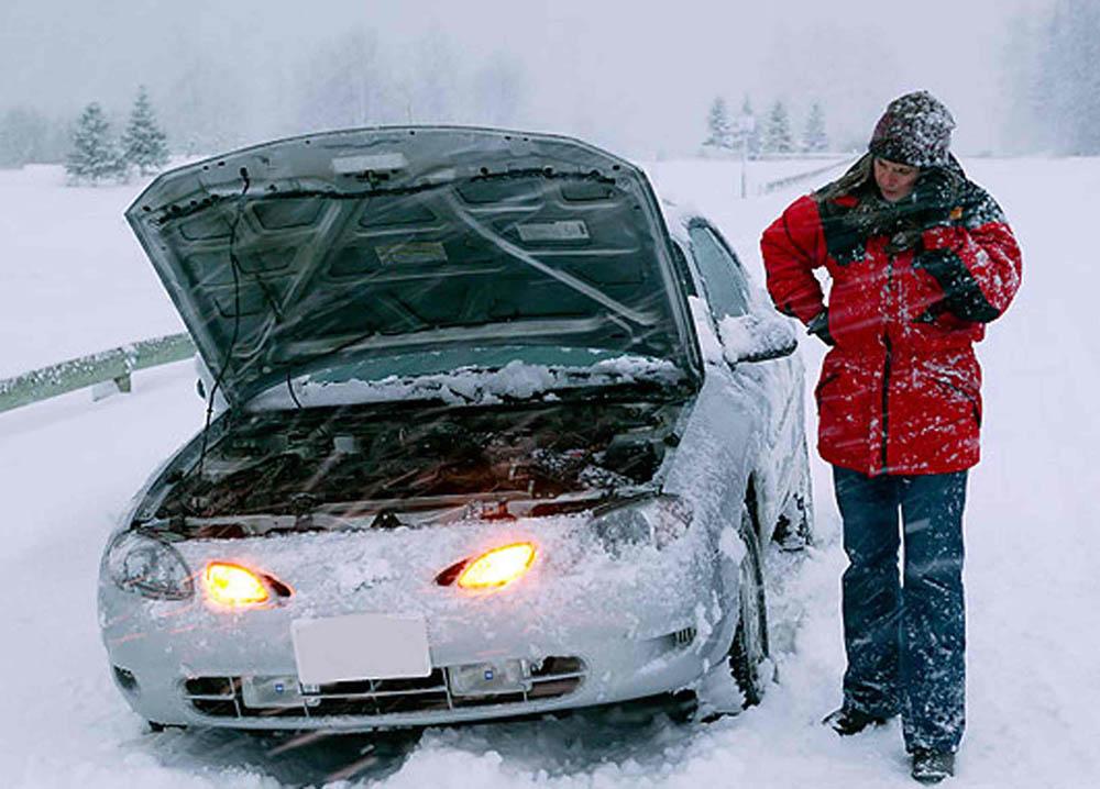 завести двигатель в мороз можно этим способом
