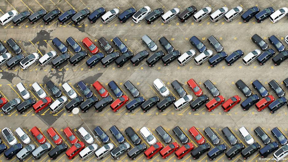 размер парковочного места под 45 градусов