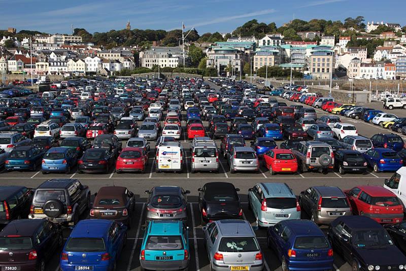 размер парковки под 90 градусов