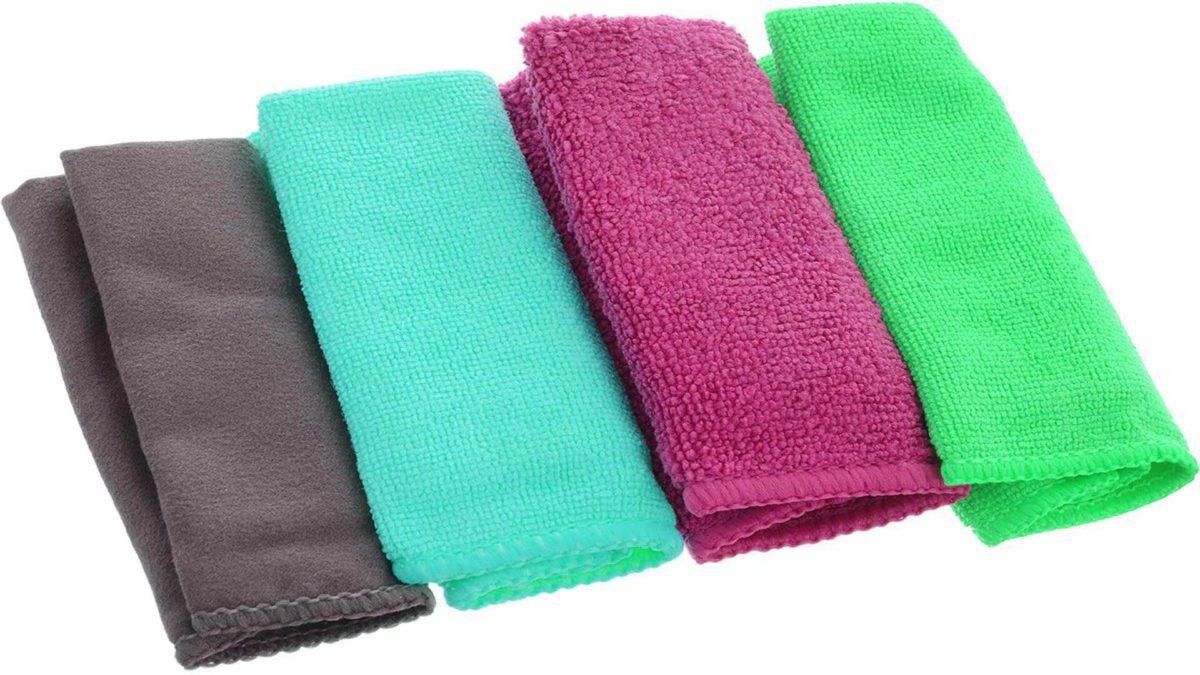 Махровые салфетки для полировки автомобиля