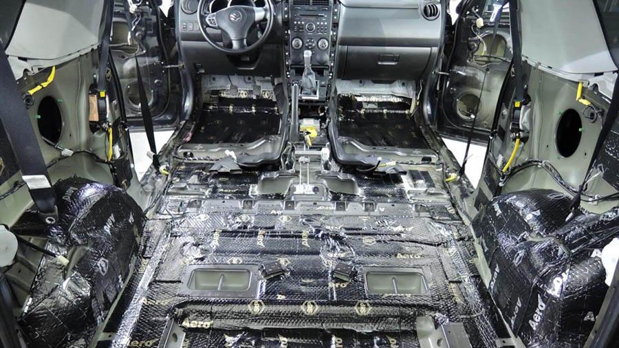 Пошаговая инструкция шумоизоляции автомобиля своими руками