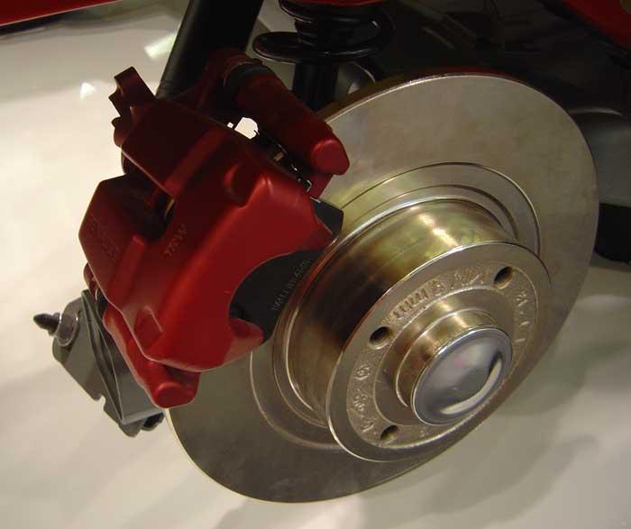 дисковый тормозной диск