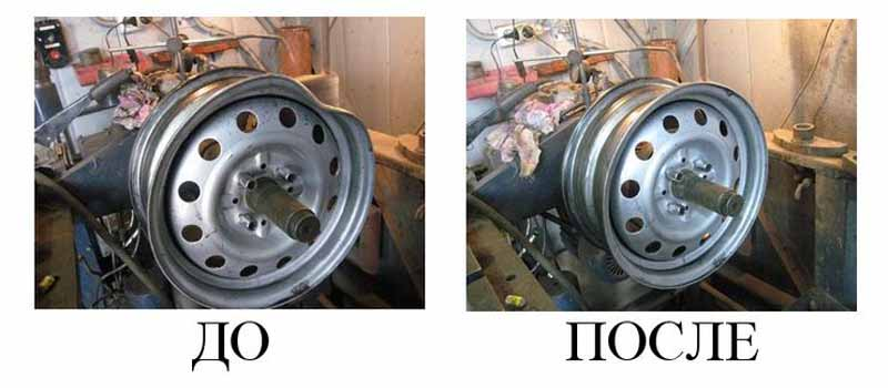 Расширение стальных дисков для тюнинга?