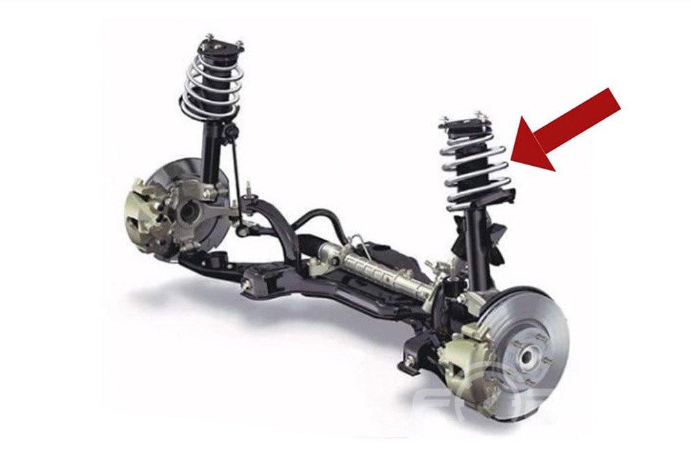 амортизационная подвеска автомобиля - принцип работы