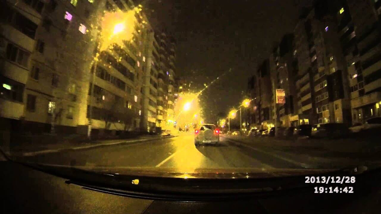 Съемка ночью на видеорегистратор ParkCity DVR HD 500 - ночная съемка на ParkCity DVR HD 500