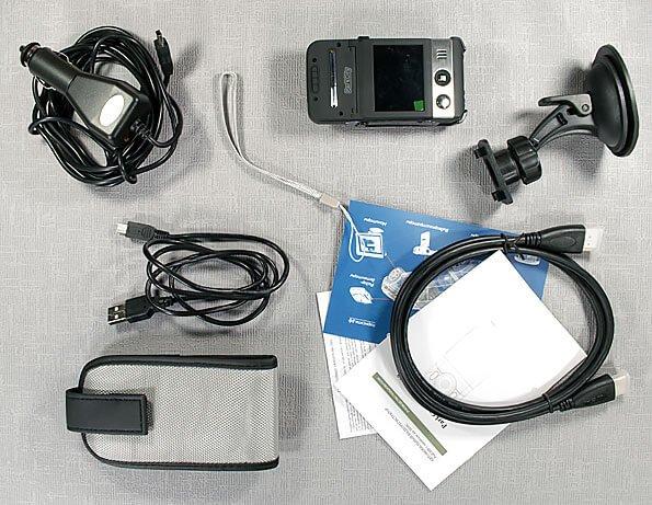 Видеорегистратор ParkCity DVR HD 500 - комплектация видеорегистратора