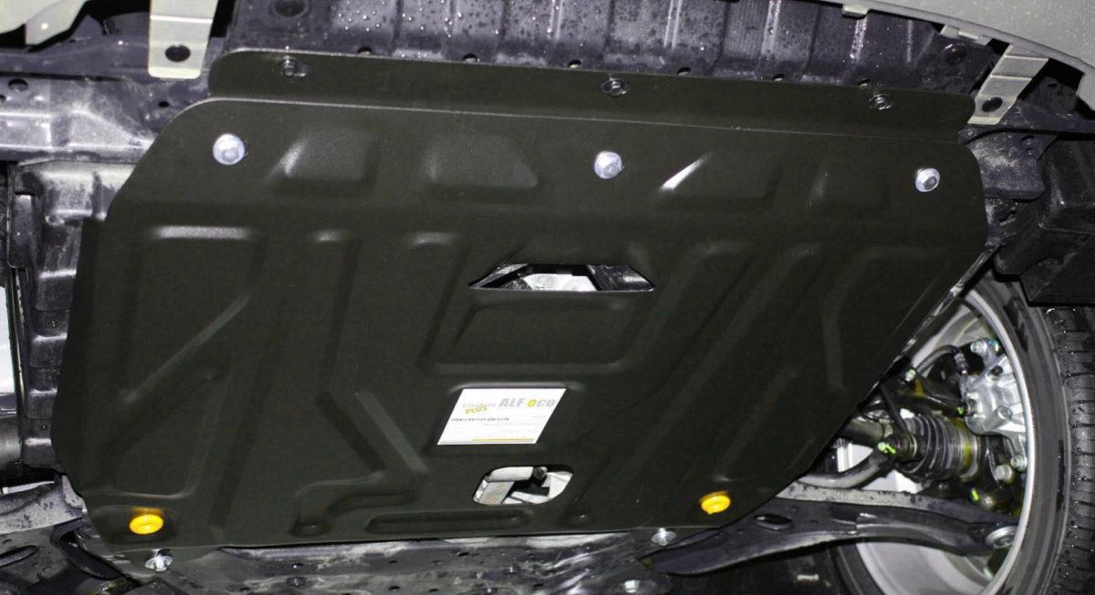 Защита картера двигателя на автомобиле