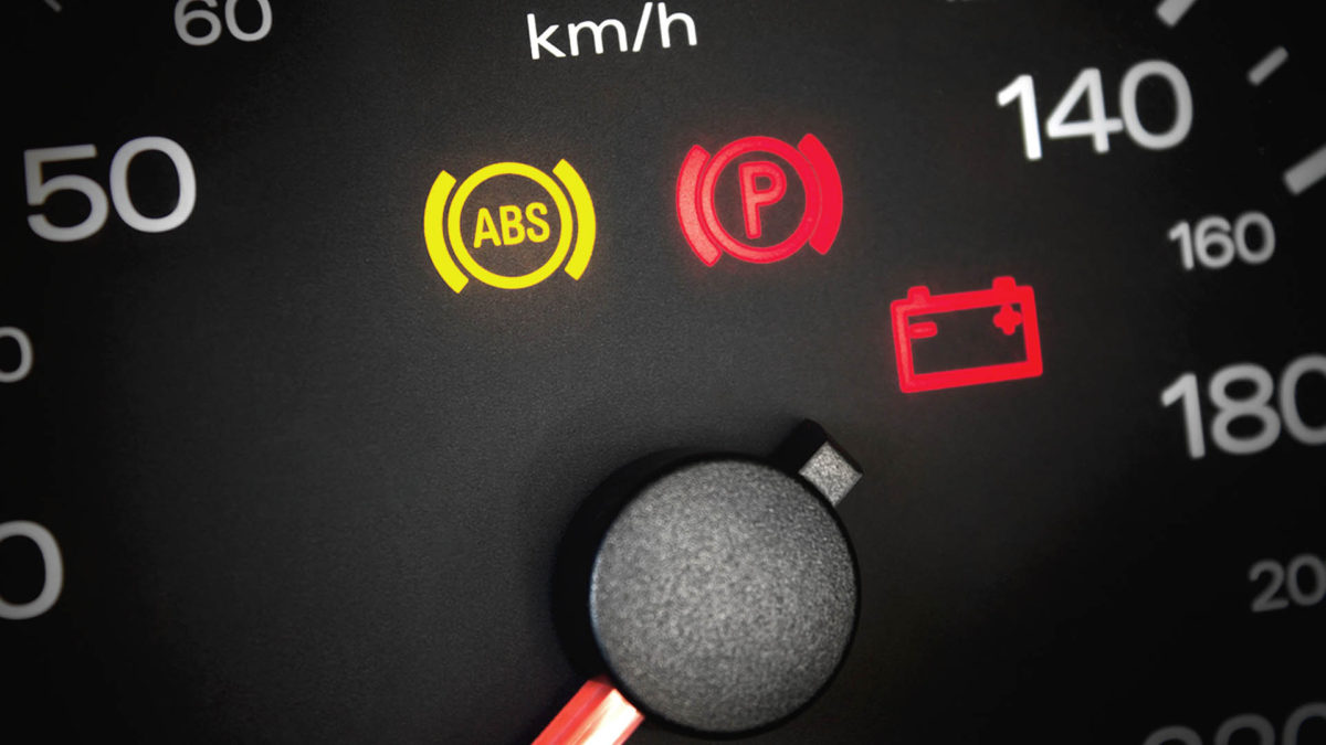 Почему загорается значок АБС на панели приборов автомобиля, диагностика АБС на авто