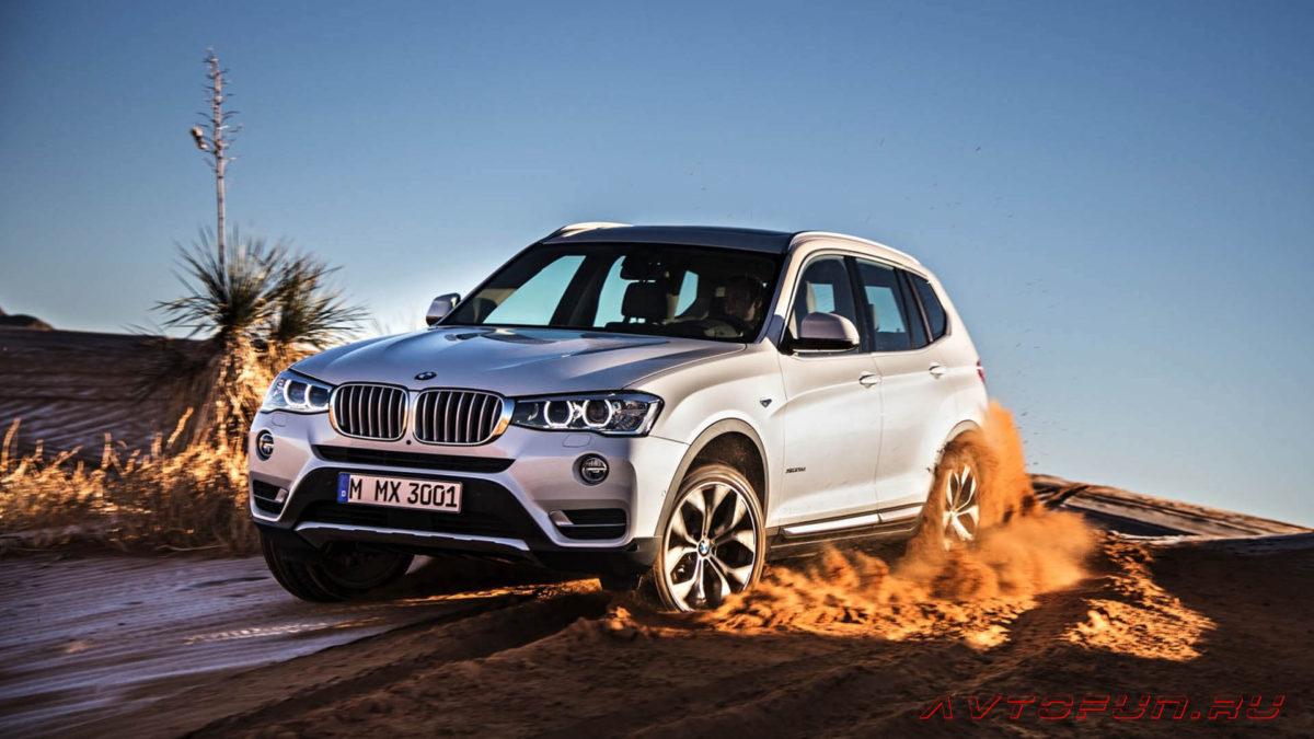 BMW X3. Характеритики автомобиля BMW X3