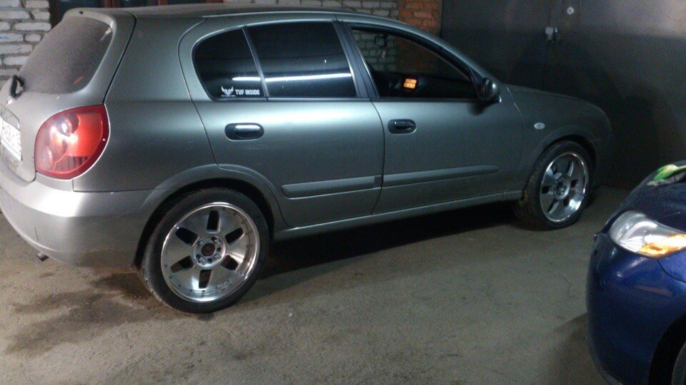 разболтовка колес Nissan Almera