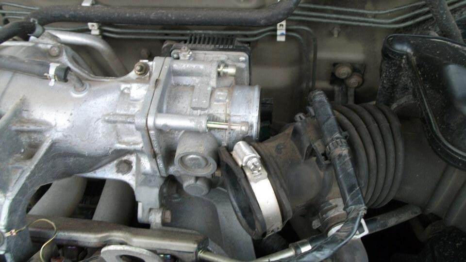 Чистка ДЗ на Nissan Almera - шаг 2