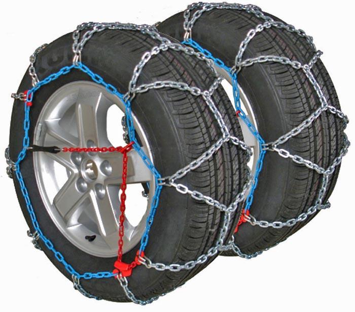 внешний вид цепей на колеса для легкового автомобиля