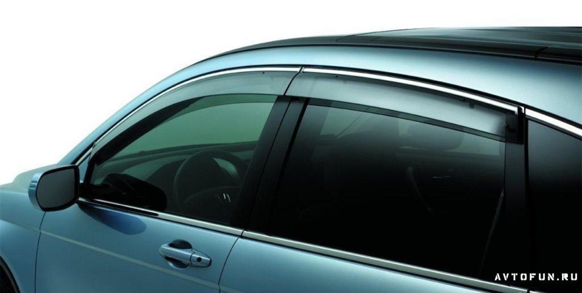дефлекторы окон - что такое дефлекторы окон автомобиля
