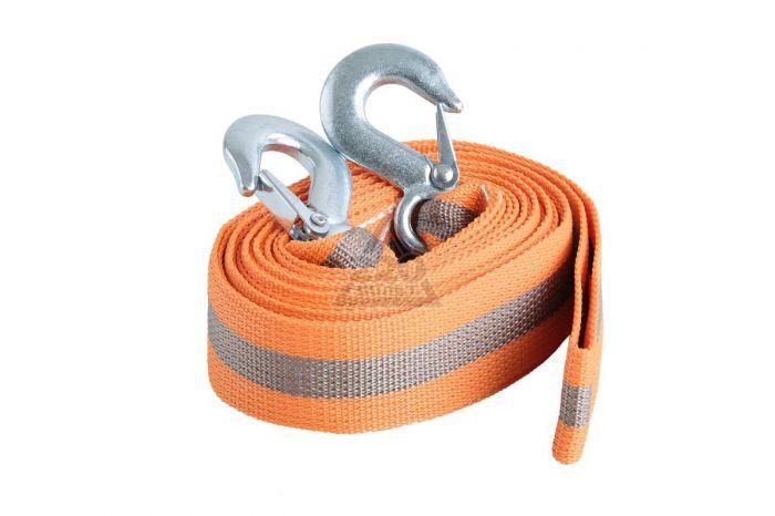 Оранжевый буксировочный трос
