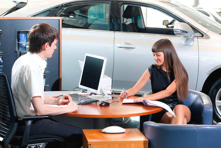 Договор купли-продажи автомобиля в автосалоне