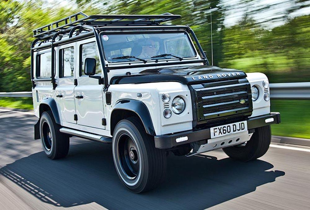 дорожный просвет Land Rover Defender