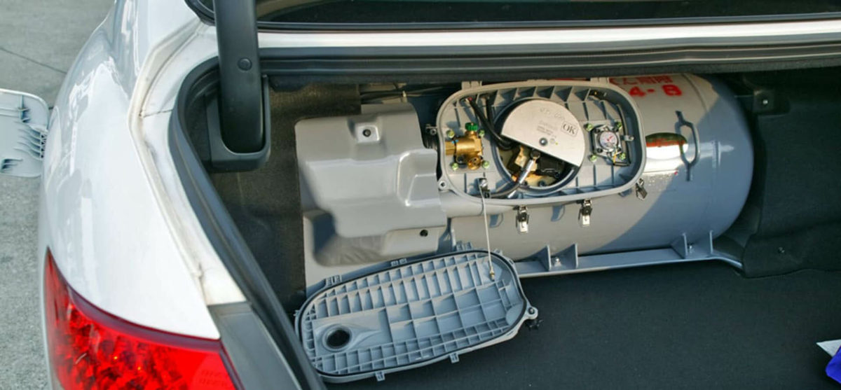 ГБО в багажнике автомобиля. Газовое оборудование в багажнике