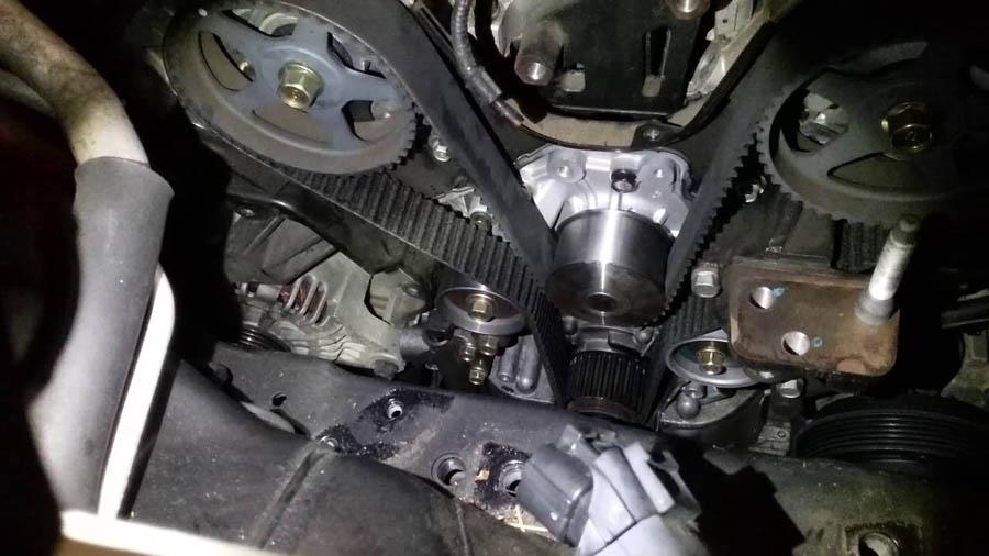 Самостоятельный ремонт Hyundai Tucson - замена ремня ГРМ