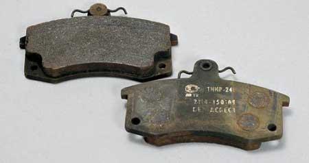 лучшие тормозные колодки на ВАЗ 2115