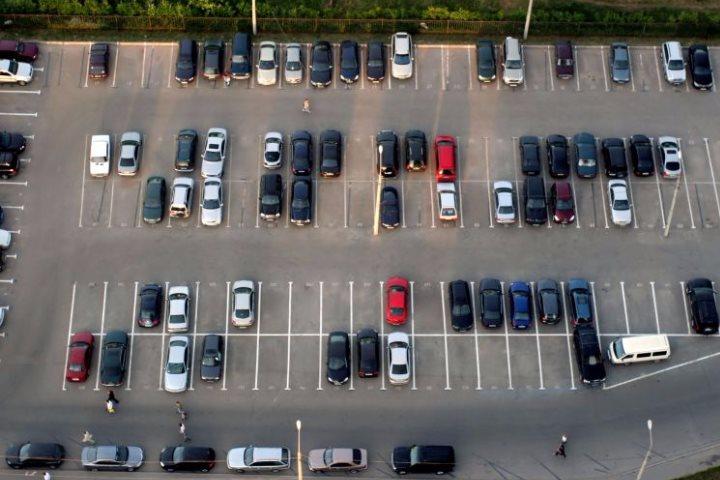 наземная парковка