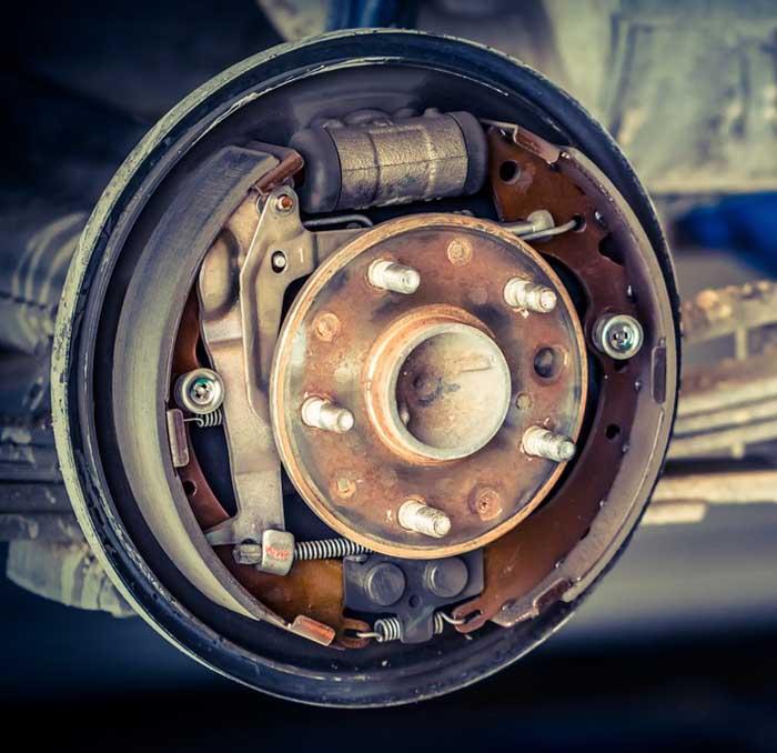 барабанный тормозной диск