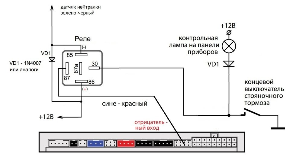 карта монтажа сигнализаций ультрастар Hyundai Solaris